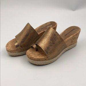 Donald Pliner Janet Wedge Espadrille Sandals 7
